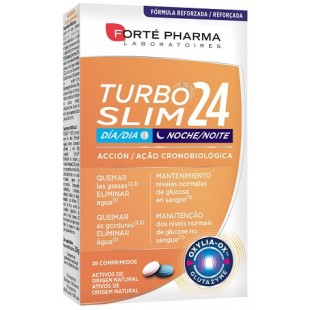 Forte Pharma Turboslim Cronoactive 28 tablets. (Day and Night)