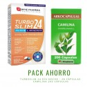 Pack ahorro TurboSlim 28 + Camilina 200