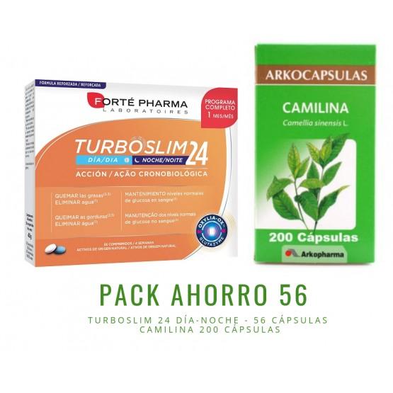 Pack ahorro TurboSlim 56 + Camilina 200