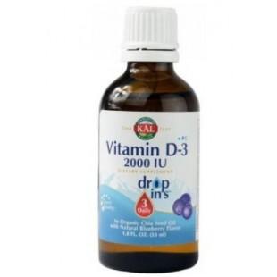 Solaray VITAMIN D3 drops