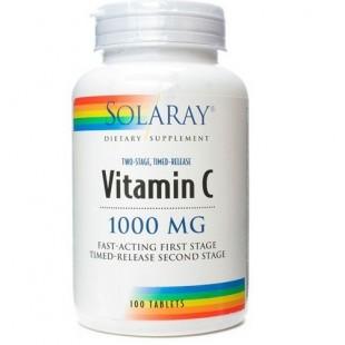 Solaray VITAMINA.C 100 comprimidos