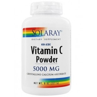 Solaray Vitamina C CRYSTALLINE NON ACID 227 gramos
