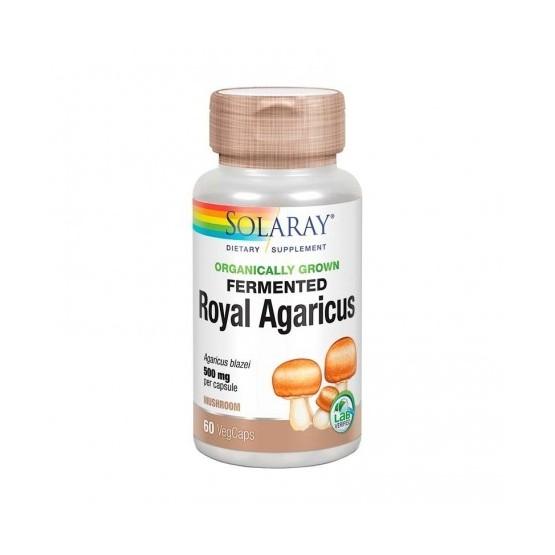 Solaray Royal Agaricus Champiñón del Sol 500 mg 60 capsules
