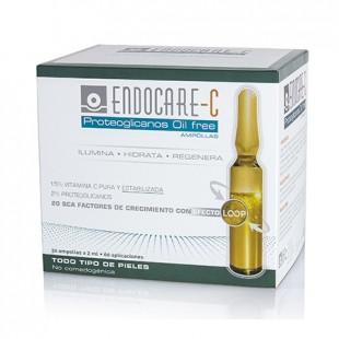 Endocare C Ampollas Proteoglicanos Oil free 30 ampollas Todo tipo de pieles