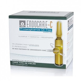 Endocare C Proteoglycan Ampoules Oil free 30 ampoules All skin types