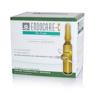 Endocare C Ampollas Oil free 30 unidades