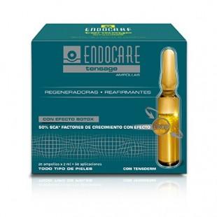 Endocare Tensage Ampollas Efecto Tensor 20 Ampollas x2 Ml