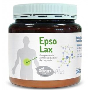 El Granero Epsolina Epsolax sales de Epson (Sulfato de Magnesio) 350 gramos