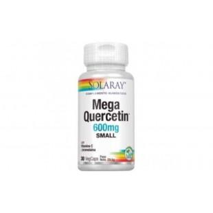 Solaray Mega Quercetin 600 mg 60 cápsulas