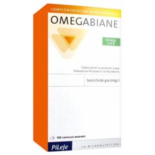 Pileje Omegabiane Camelina 100 cápsulas