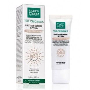 Martiderm Proteos Screen SPF 50+ Color Fluid Crema facial 40 ml