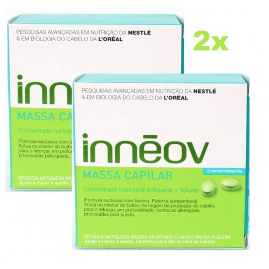 Inneov Masa Capilar Pack Oferta 2 x 60 comprimidos.