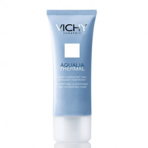 Vichy Aqualia Thermal Rica 40 ml. Piel Sensible Tratamiento hidratante 24h