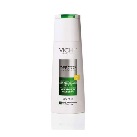 Vichy Dercos Champú Tratante Anticaspa Seca 200 ml