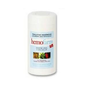 Hemofarm Toallitas para la higiene anal 60 unidades