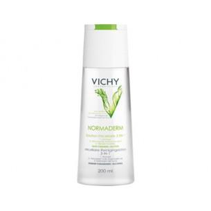 Vichy Normaderm Solución Micelar 3 en 1 200ml. Anti-imperfecciones