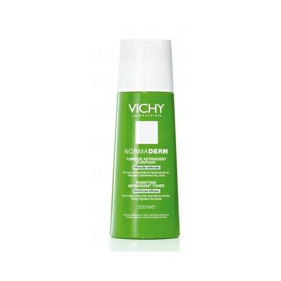 Vichy Normaderm Tonico Purificante 200ml. Pieles con poros dilatados