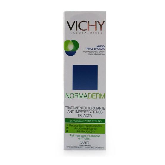 Vichy Normaderm Tri-Activ Tratamiento Hidratante Día, 50ml.