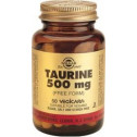 Solgar Taurina 500mg 50 capsulas. Aminoacidos.