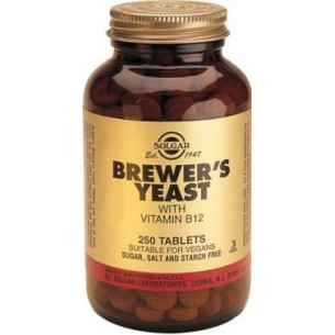 Solgar Brewers Yeast 250 tablets
