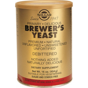 Solgar Brewers Yeast Powder 454 grams