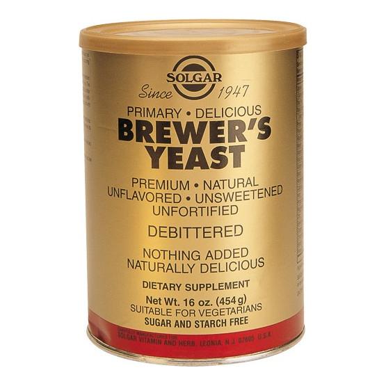 Solgar Levadura de Cerveza en polvo 454 gramos.