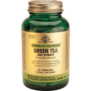 Solgar Té Verde Extracto de hoja 60 Cápsulas vegetales