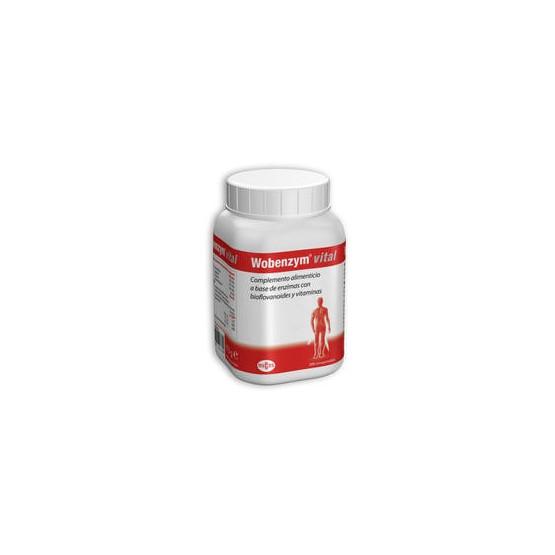 Wobenzym® vital 200 comprimidos.