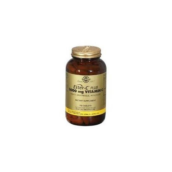 Solgar Ester C Plus 1000 mg - Vitamina C 180 comprimidos