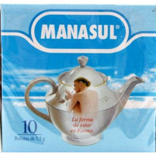 Manasul, 10 sachets. Weight control, constipation.