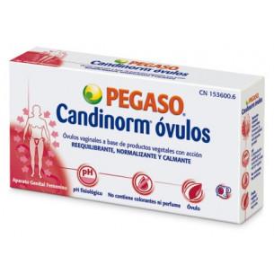 Pegaso Candinorm Óvulos Vaginales 10 aunidades.