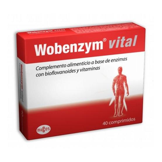 Wobenzym ® vital, 40 tablets.