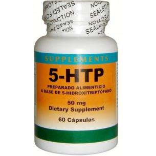Pal HTP 5-Hidroxitriptófano 50mg. 60 cápsulas