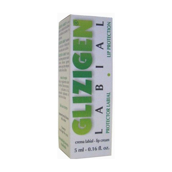 Lip Cream GLIZIGEN 5 ml. Infections caused by herpes.