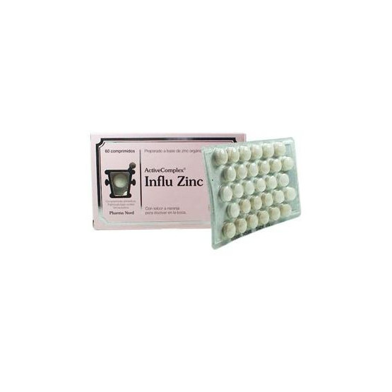 Pharma Nord Activecomplex Influ Zinc 60 tablets.