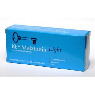 Clavis Key Light Melatonin 1 mg 60 tablets. Clavis