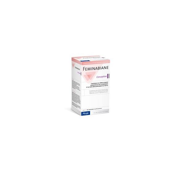 Pileje Feminabiane concepción 28 comprimidos y 28 capsulas