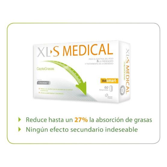 Medical Xls Captagrasas 60 tablets