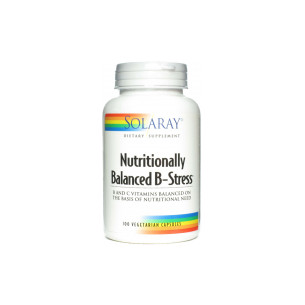 Solaray Nutritionally Balanced B-Stress 100 cápsulas