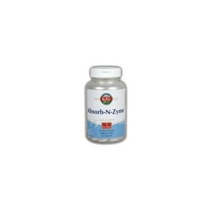 Solaray ABSORB-N-ZYME 90 comprimidos