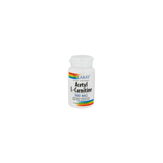 Solaray Acetyl L-Carnitine 30 cápsulas