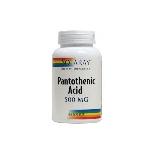 Solaray Acid Pantothenic 100 cápsulas