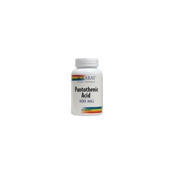 Solaray Acid Pantothenic 100 cápsulas