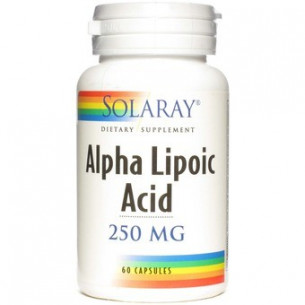 Solaray Lipoc Alpha Acid 60 capsules