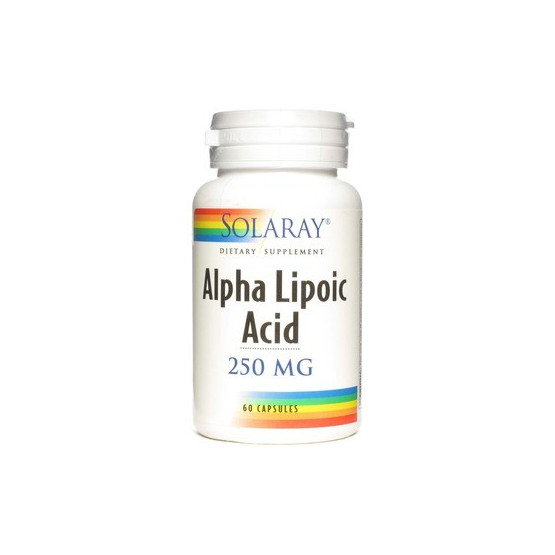 Solaray Alpha Lipoc Acid 60 cápsulas