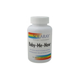 Solaray Baby Me Now Prenatal Multi 150 tablets