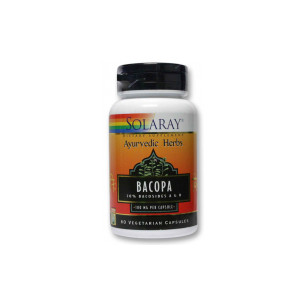 Solaray Bacopa 60 Capsules