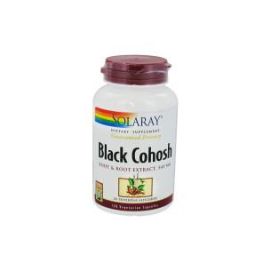 Solaray Black Cohosh (cimifuga) 120 cápsulas