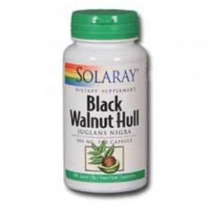 Solaray BLACK WALNUT HULL (nogal negro) 100 cápsulas.