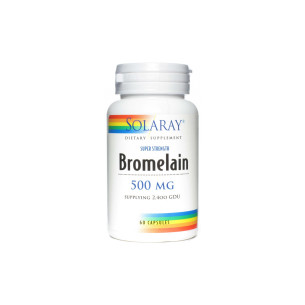 Solaray BROMELAIN 60 Capsules